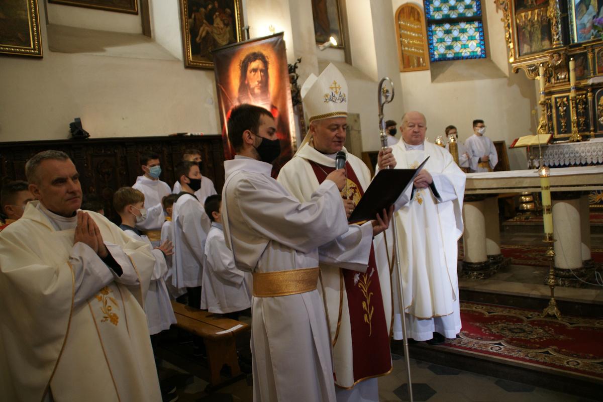 Uroczystości w parafii w Barcicach